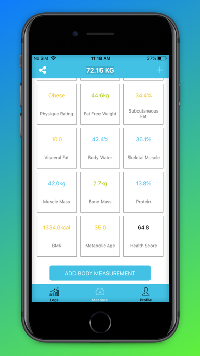 Actofit SmartScale screenshot four