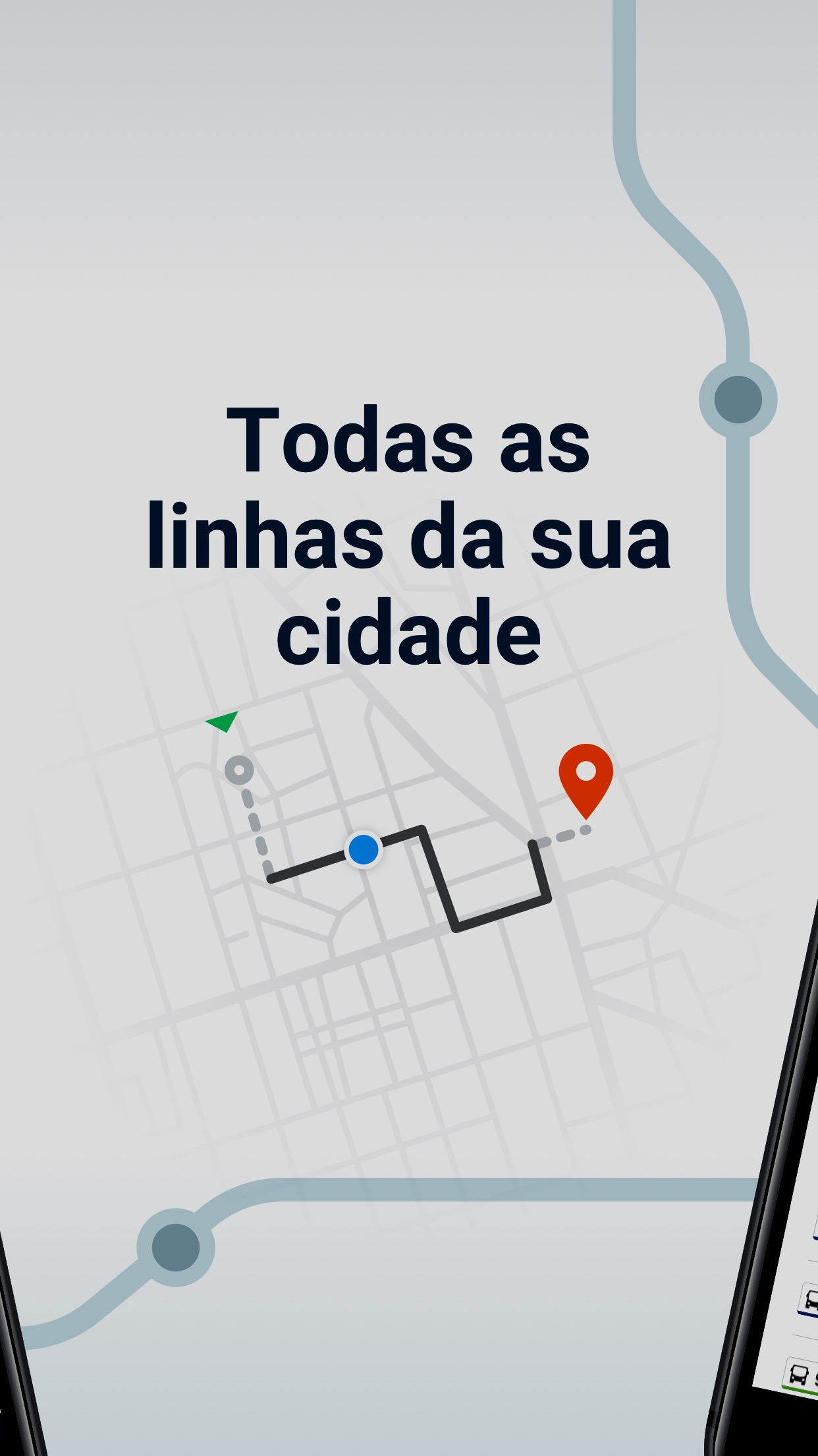 Screenshot do app Moovit: Transporte Público
