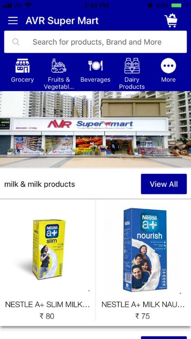 AVR Super Mart screenshot 1
