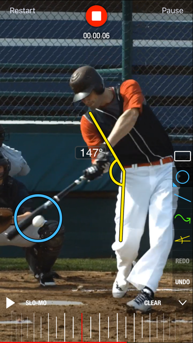 Coach's Eye - Video Analysis Screenshot