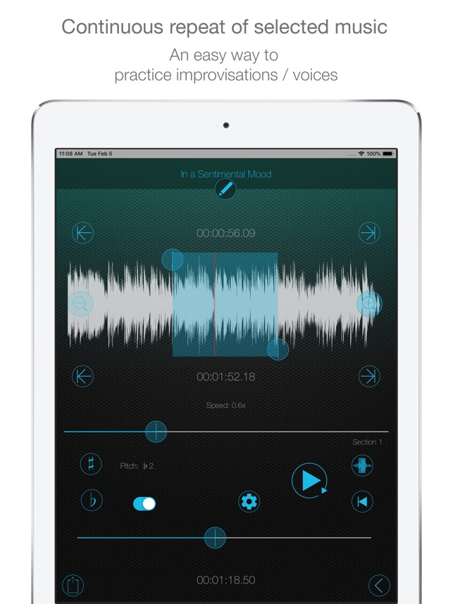 Music Looper - Pitch, Slow on the App Store