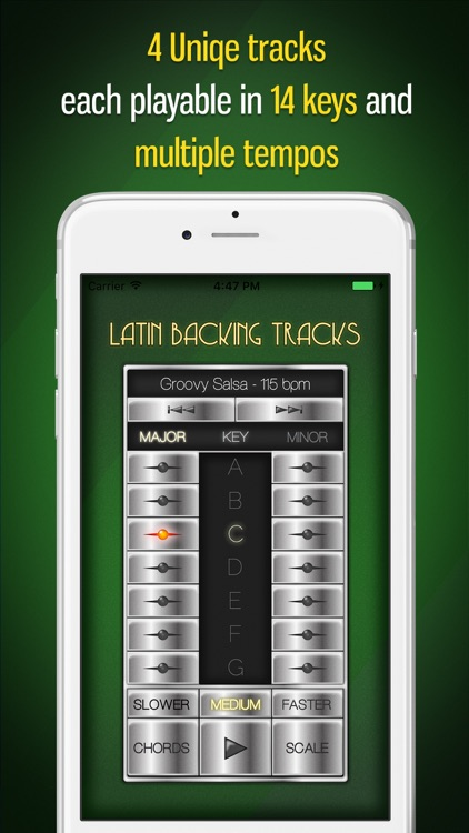 Backing Tracks: Latin screenshot-0
