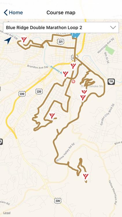 Blue Ridge Marathon 2020 screenshot-3