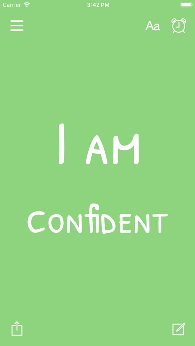 I am - Daily Affirmations Screenshots