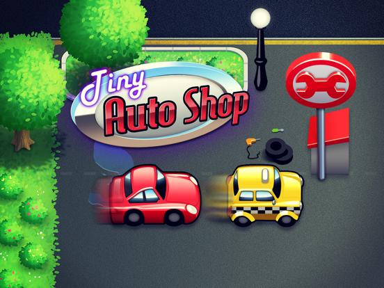 Tiny Auto Shop: Car Stop Baron-ipad-0