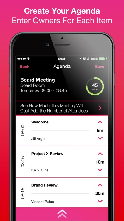 MeeTime Meeting Timer screenshot-1