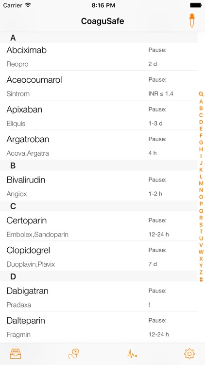 CoaguSafe - Anticoagulant screenshot-0