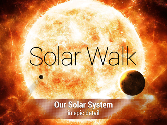 Solar Walk ™ - Solar System Planets, Orbits, and Moons with Pictures, Sounds and Lessons screenshot