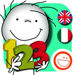 Nini learns to count Italian