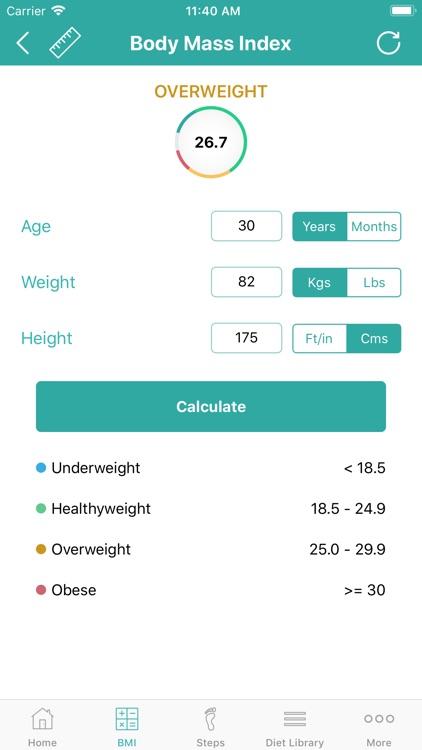Calorie Counter - Daily Steps screenshot-4