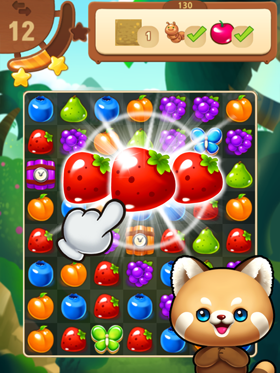 フルーツマスター:マッチ3パズルのおすすめ画像1