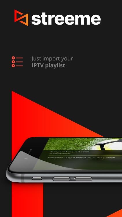 Streeme: IPTV Streaming