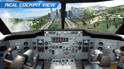 AFPS Airplane Flight Pilot Simلقطة شاشة1