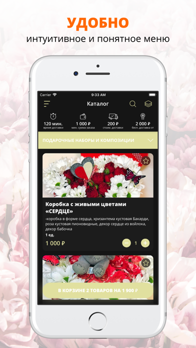 Creative flowers   Кострома screenshot 1