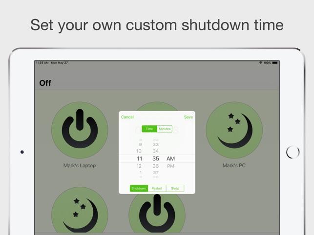 Off Pro - Remote PC Shutdown