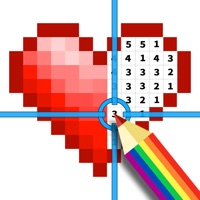 Codes for Color by number & Pixel art Hack