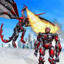 Flying Dragon Robot Warrior