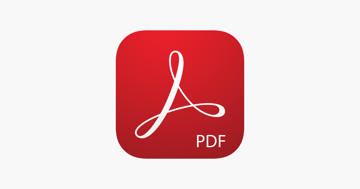 Adobe Acrobat Reader for PDF on the App Store