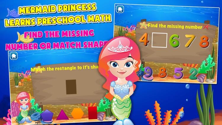 Mermaid Princess Math for Kids screenshot-3