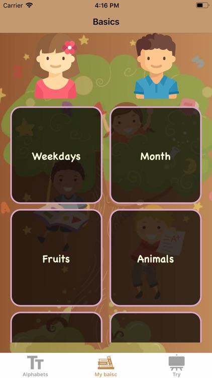 Learn Endless kids screenshot-4