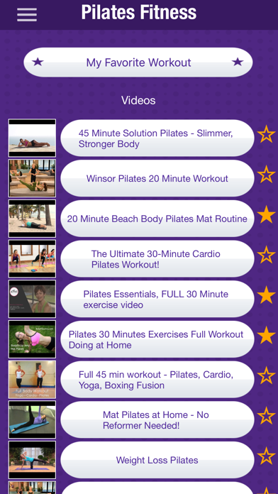 Pilates Fitness Workout Videosのおすすめ画像1