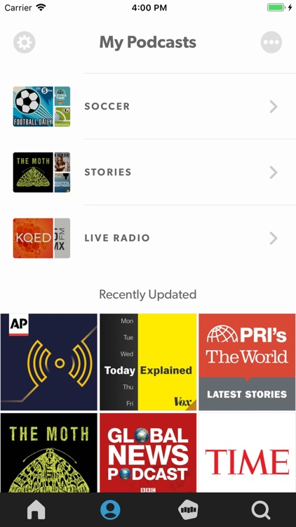 Stitcher for Podcasts