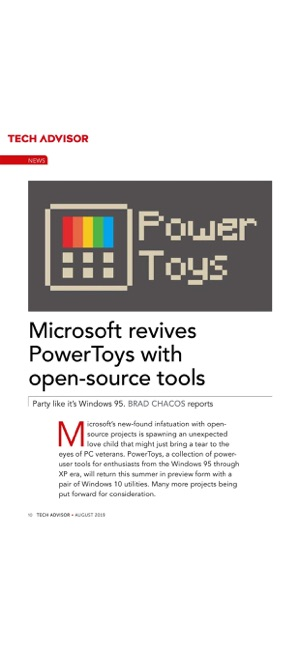 Tech Advisor Magazine on the App Store