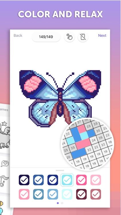 PixelArt Color by Number Game screenshot-4