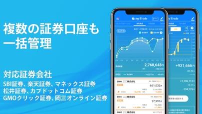 投資管理マイトレード-株式投資を自動で記録分析 ScreenShot1