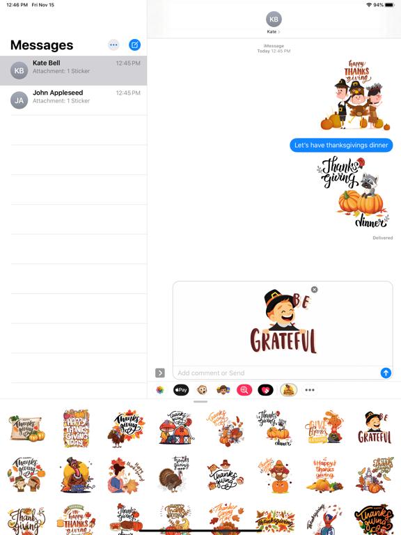 ThanksGiving Story Stickers screenshot 6