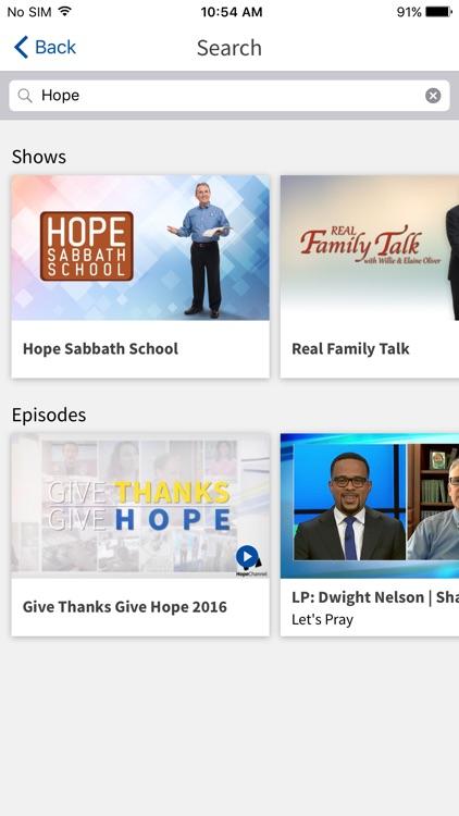 Hope Channel screenshot-4
