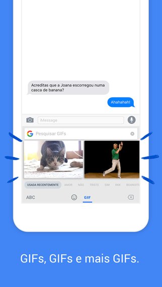 Screenshot for Gboard – o Teclado Google in Portugal App Store