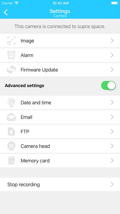 Maginon IPC Viewer by supra GmbH (iOS, United States) - SearchMan