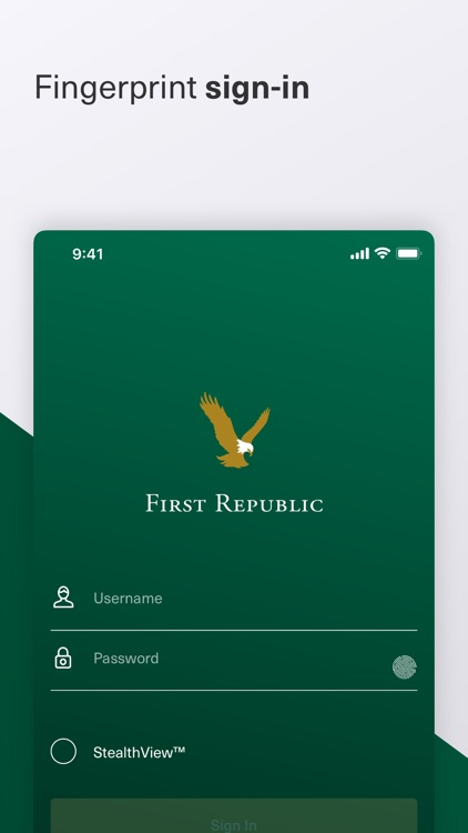 First Republic Mobile screenshot-0