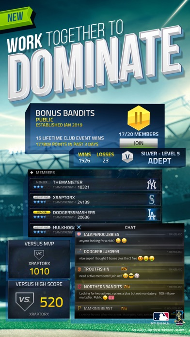 MLB Tap Sports Baseball 2019 for windows pc