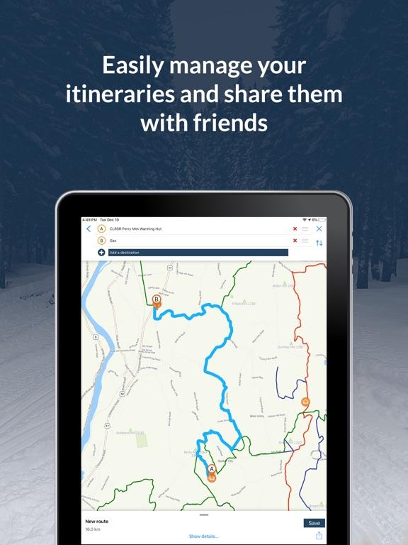 NH Snowmobile Trails 2020 screenshot 9