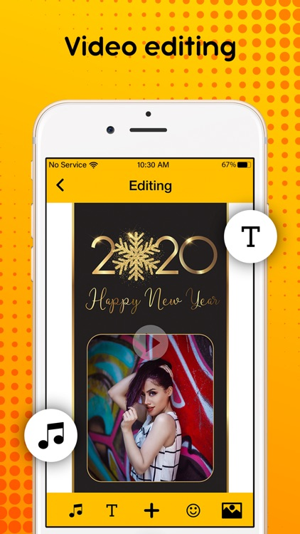 New Year 2020 : Video Maker screenshot-5
