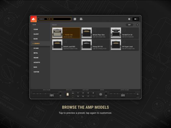 BIAS AMP 2 - for iPadのおすすめ画像2