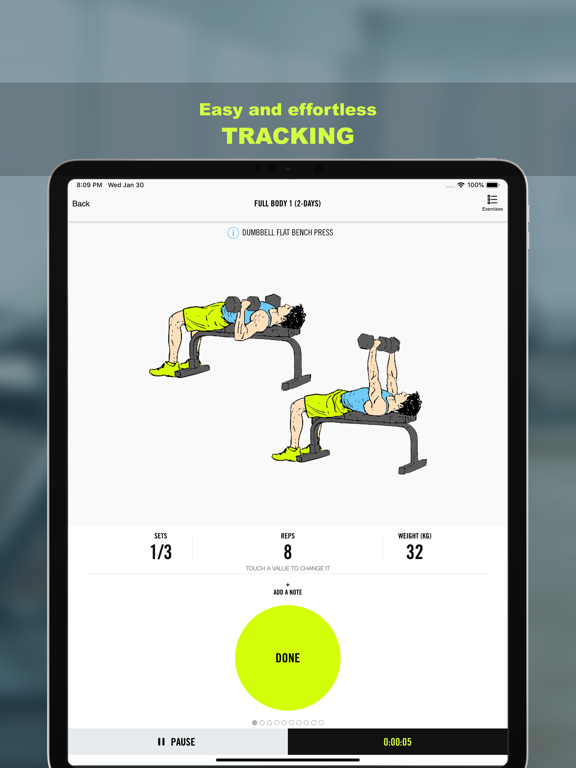 Gym Life - Workout Scheduleのおすすめ画像5