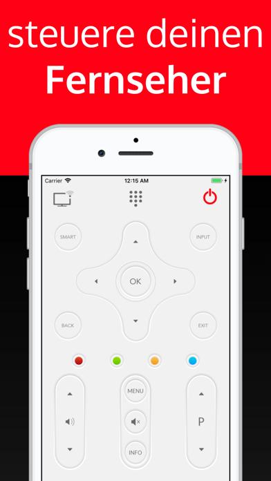 Screenshot for universal fernbedienung tv in Germany App Store