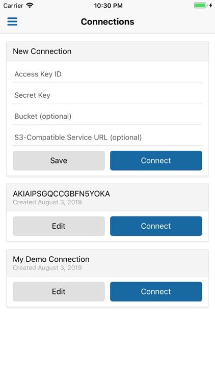 AWS S3 Manager screenshot-0