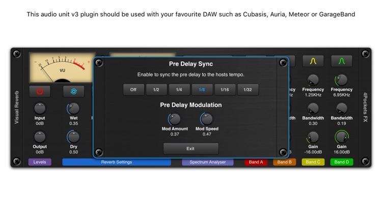 Visual Reverb AUv3 Plugin screenshot-4