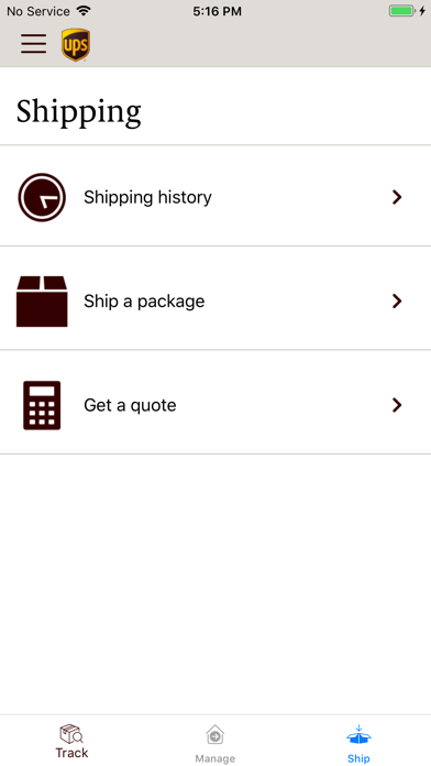 Ups Mobile review screenshots