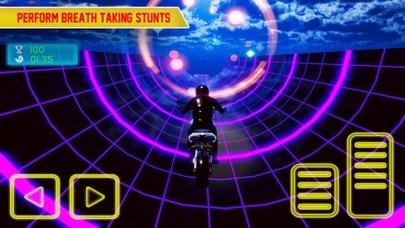 Screenshot #2 pour Crazy Bike In Light Tracks