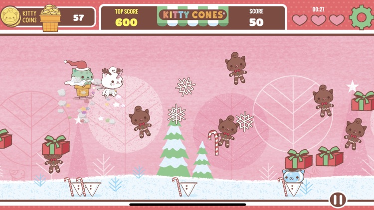 Kitty Cones Christmas screenshot-2