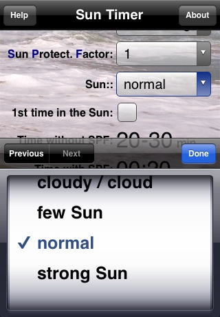 Sun Timer - náhled