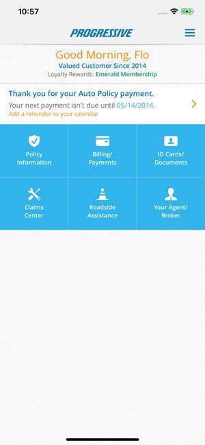 Progressive Cancel Policy >> Progressive On The App Store