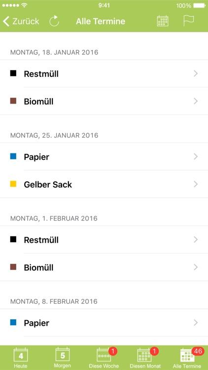 Abfall-App Landkreis Lörrach