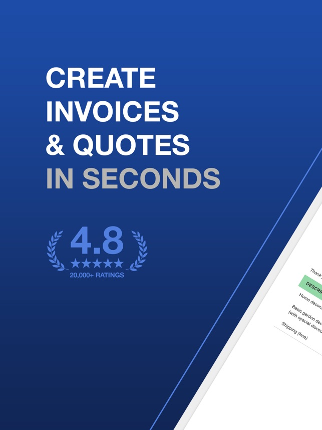 Invoice & Quote Maker Billdu on the App Store
