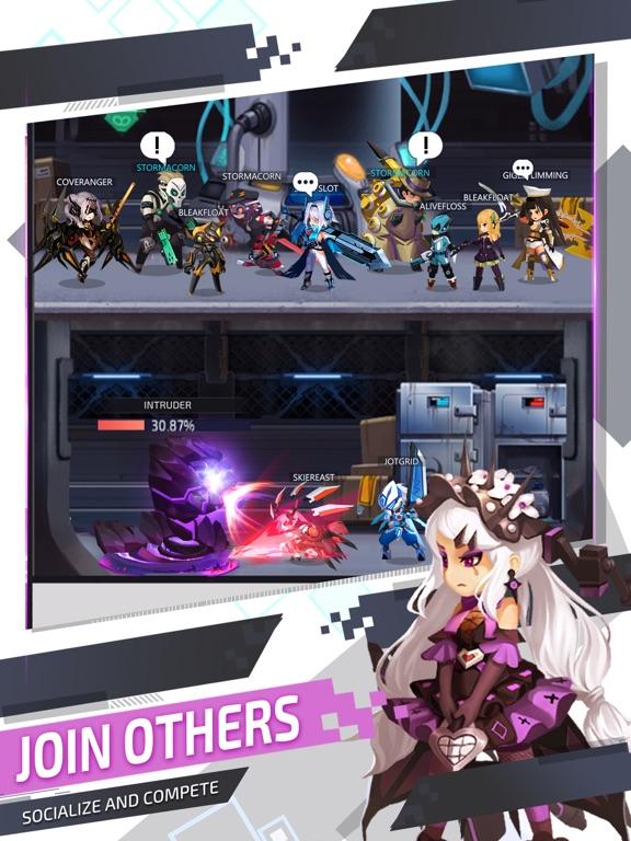 Ipad Screen Shot Nova Heroes 1